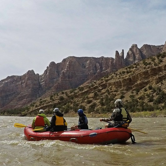 Green River: Split Mountain Canyon