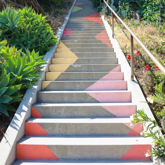 Silver Lake Stairway Tour