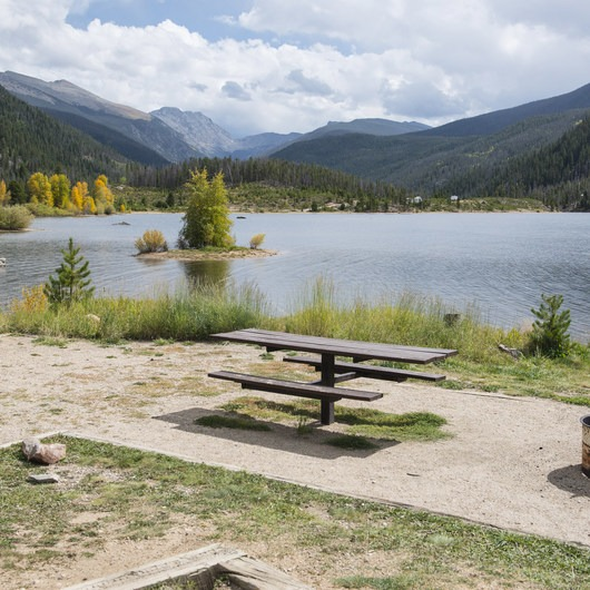 Arapaho Bay: Roaring Fork Campground