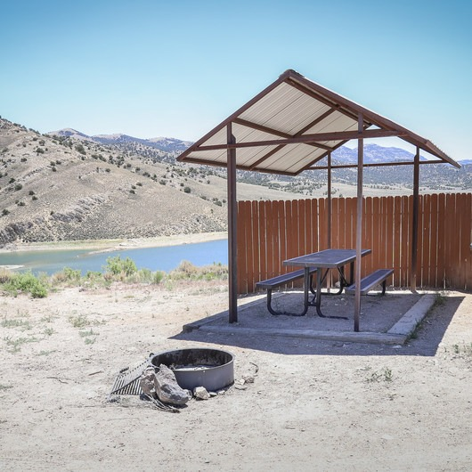 Illipah Reservoir Campground