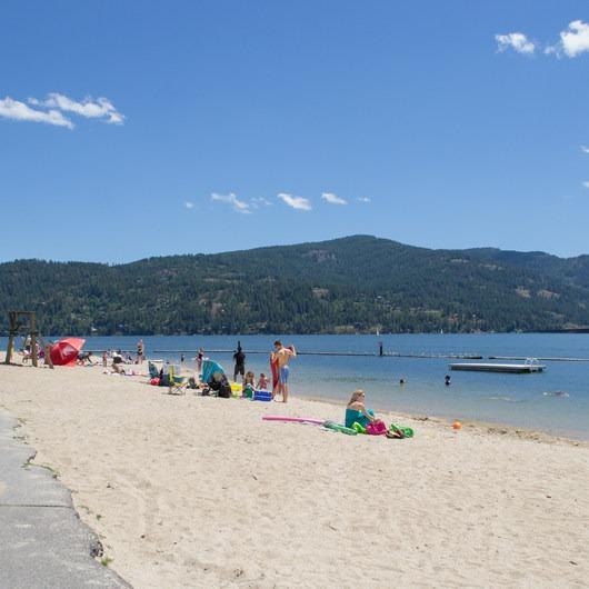 Sandpoint City Beach Park