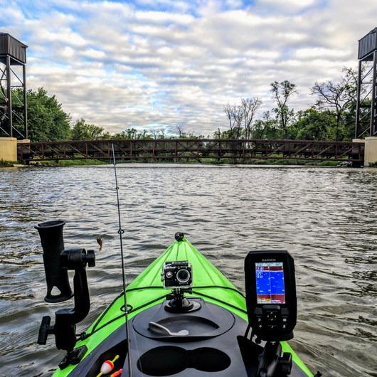 Red River of the North: Lindenwood Park Kayak Dock