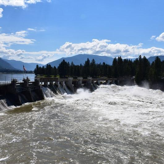 Thompson Falls Dam