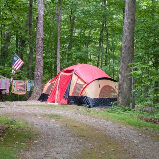 Camden Hills State Park Campground