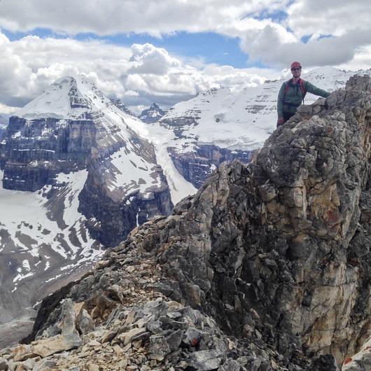 Mount Whyte + Mount Niblock
