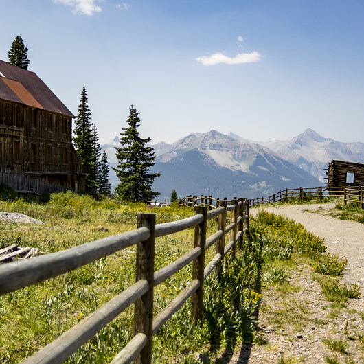 Alta Lakes Ghost Town