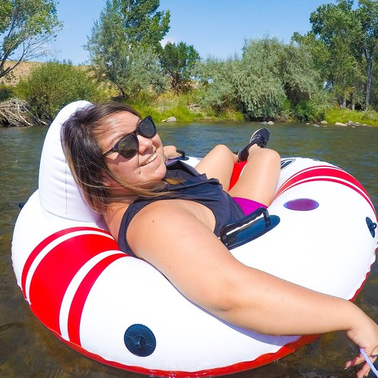 Truckee River Float: Reno Section