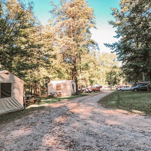 Horseshoe Bend Marina Campground