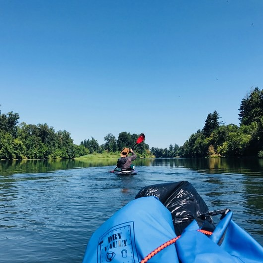 Willamette River: Riverview Park to Bryant Park via Rogue Farms