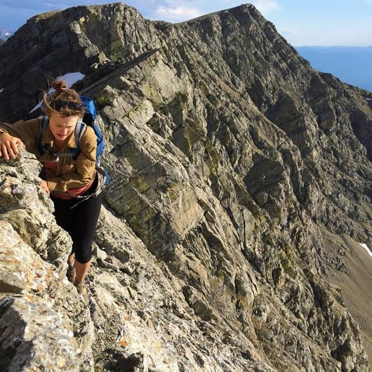 Holland Peak: South Ridge Route