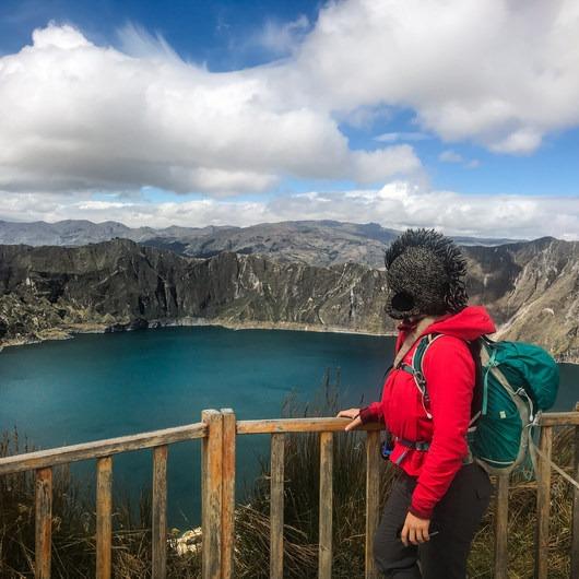 Laguna Quilotoa Rim Trail
