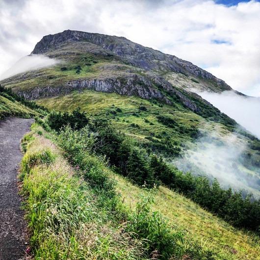 Flattop Mountain via Glen Alps Trailhead