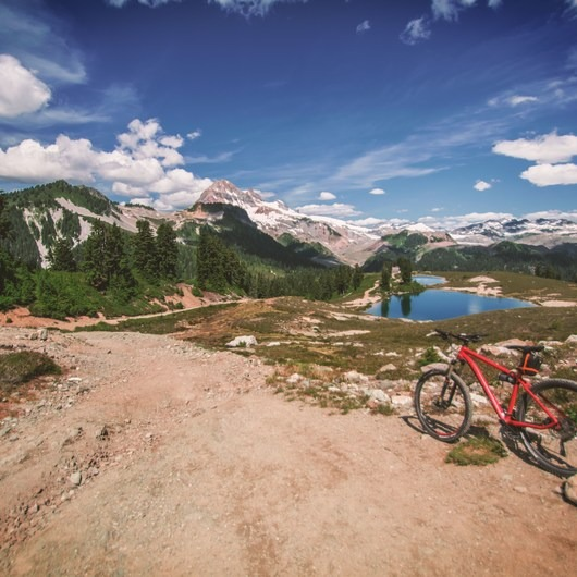Elfin Lakes Mountain Biking