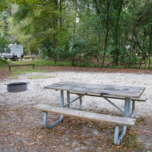 Manatee Springs State Park Campground