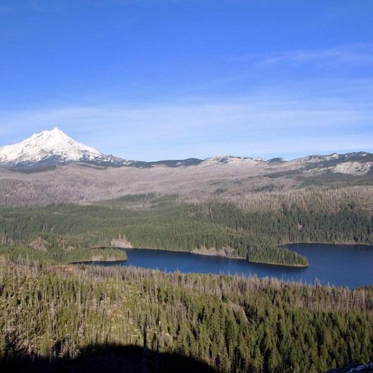 Marion Mountain via Marion Lake