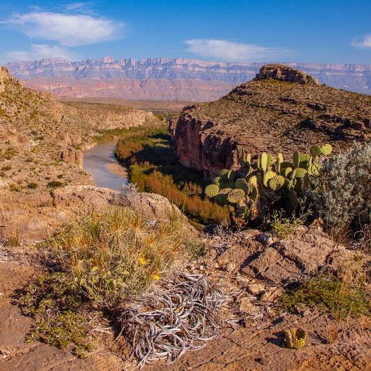 Hot Springs Canyon Rim Trail