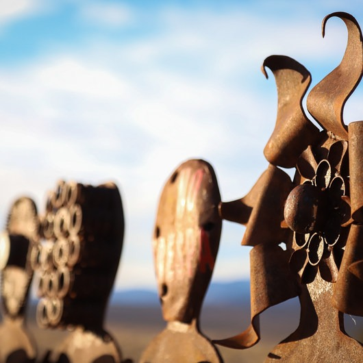 Olancha Sculpture Garden