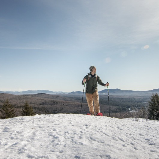 Coney Mountain Snowshoe