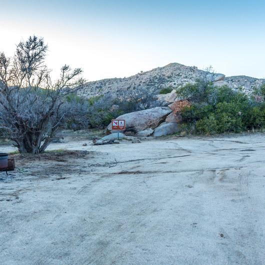 Culp Valley Primitive Campground