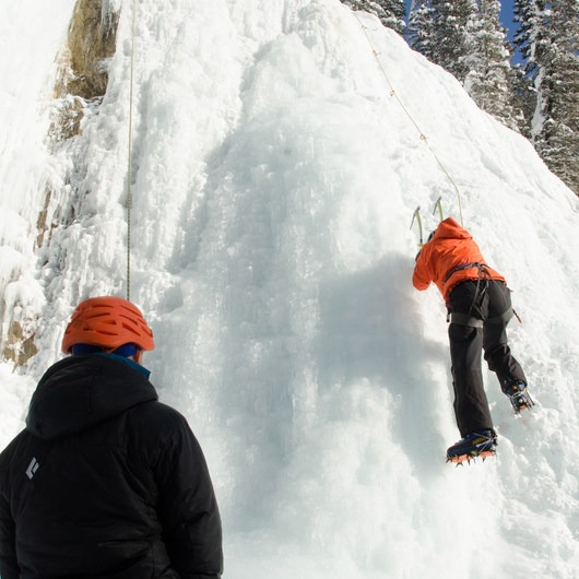 Johnston Canyon Ice Crag