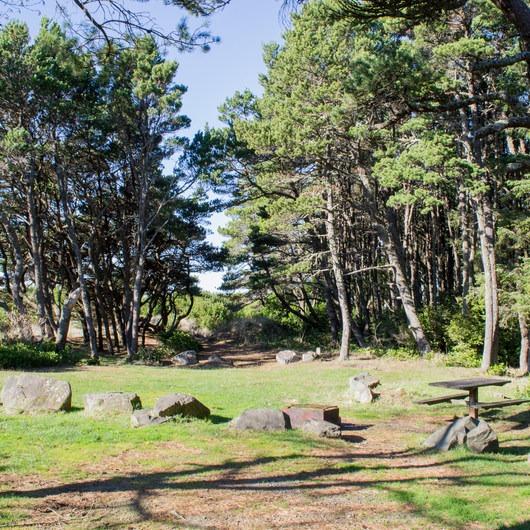 Baker Beach Campground