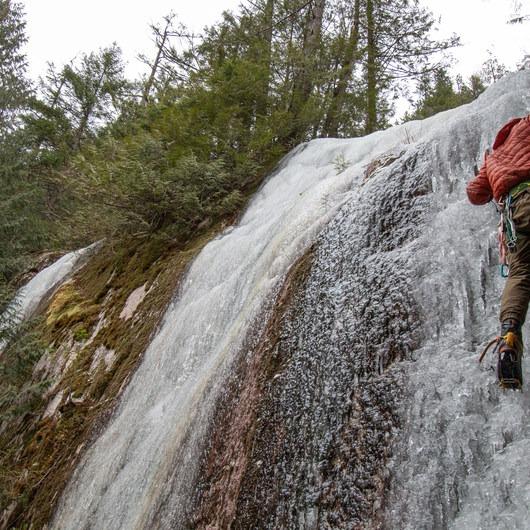 Ammo Slabs Ice Climbing