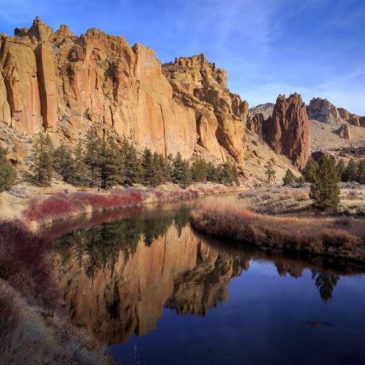 Smith Rock, River Trail Hike