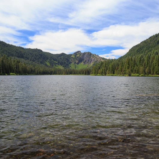 Elk Lake, Bull of the Woods Wilderness