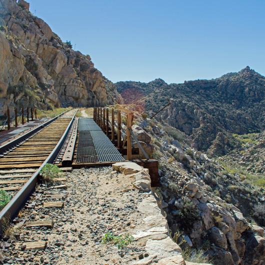 Goat Canyon Trestle via Carrizo Gorge Road