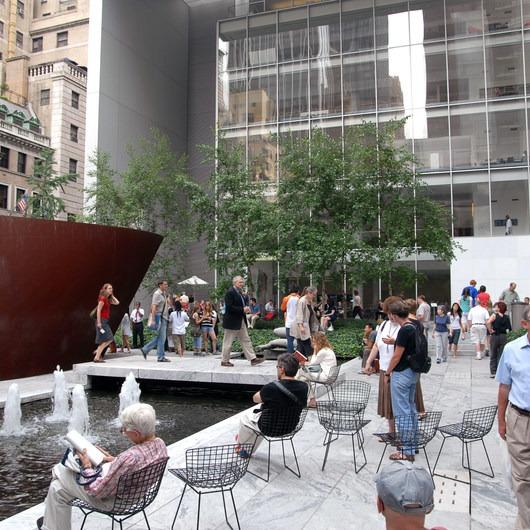 Museum of Modern Art (MoMA) Courtyard