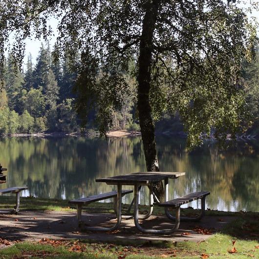 Nolte State Park, Deep Lake