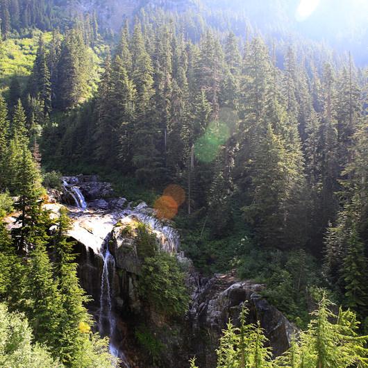 Snowshoe + Keekwulee Falls via Denny Creek Trail