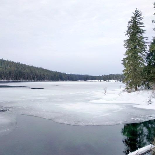 Clear Lake Snowshoe