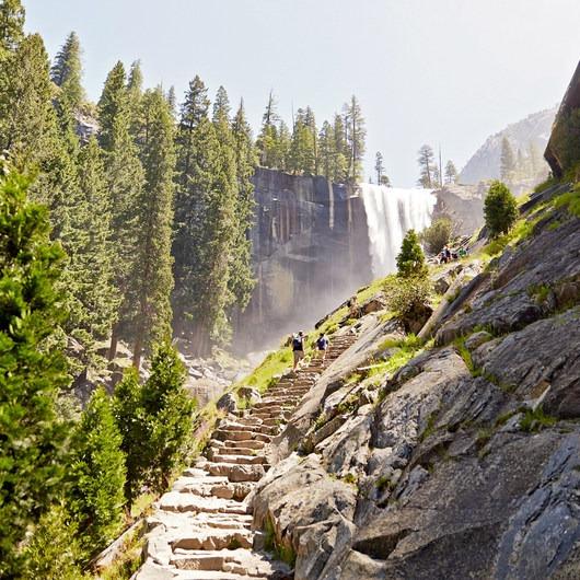 Vernal Falls Hike via Mist Trail