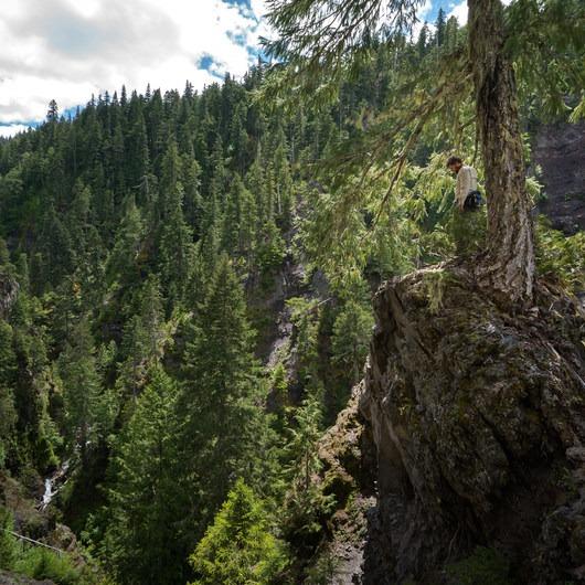 Shangri-La (Dinah-Mo) Falls Hike