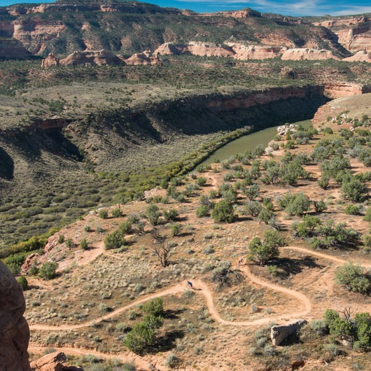 Kokopelli Loops Mountain Bike Trails: Horsethief Bench