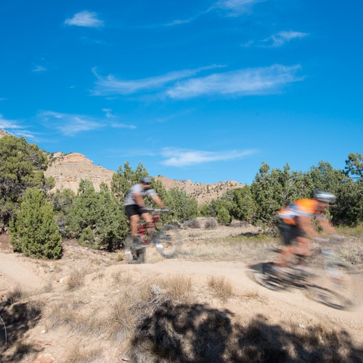 18 Road Mountain Bike Trails: PBR