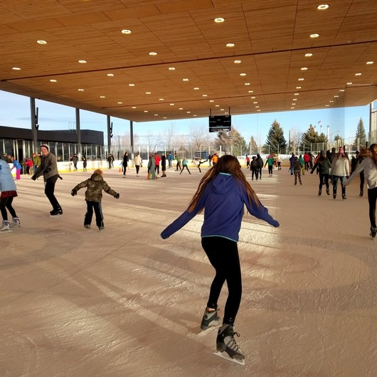 The Pavilion Ice Skating