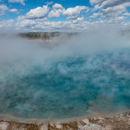 Grand Prismatic Spring + Midway Geyser Basin