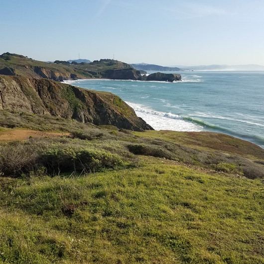 Fort Cronkhite Loop: Coastal, Wolf Ridge + Miwok Trails