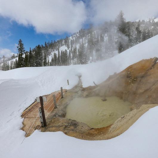Sulphur Works Snowshoe
