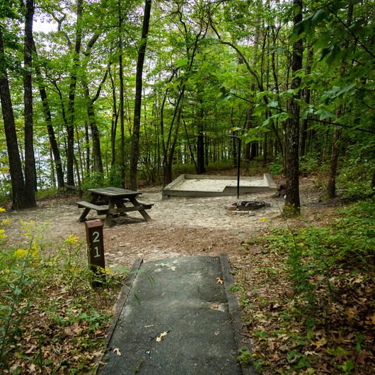 Devils Fork State Park Campground