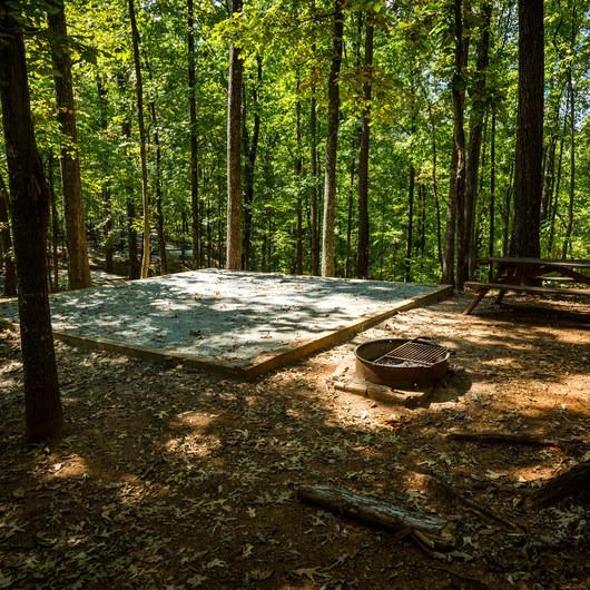 Keowee Toxaway State Park Campground