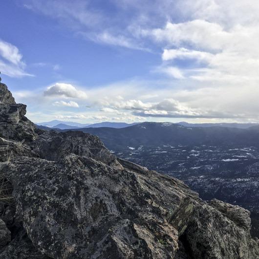 Squaw Mountain Snowshoe