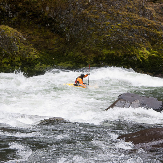 Clackamas River, Sun Strip to Bob's Hole