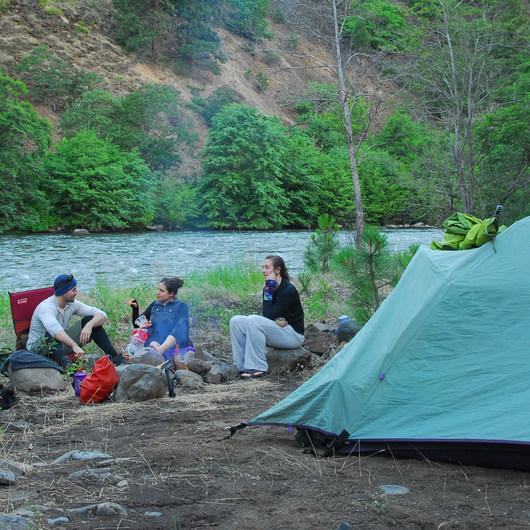 Klickitat River Campsite