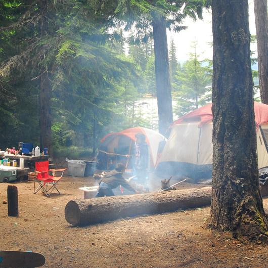 Timothy Lake, Oak Fork Campground