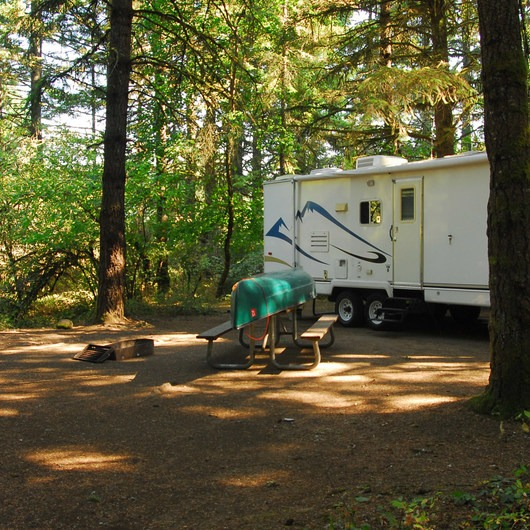 Milo McIver State Park Campground