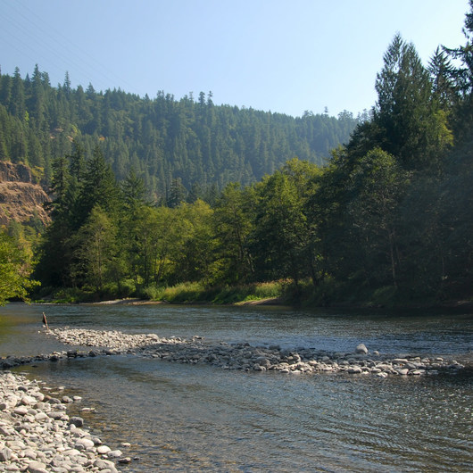 Clackamas River, Mile 33