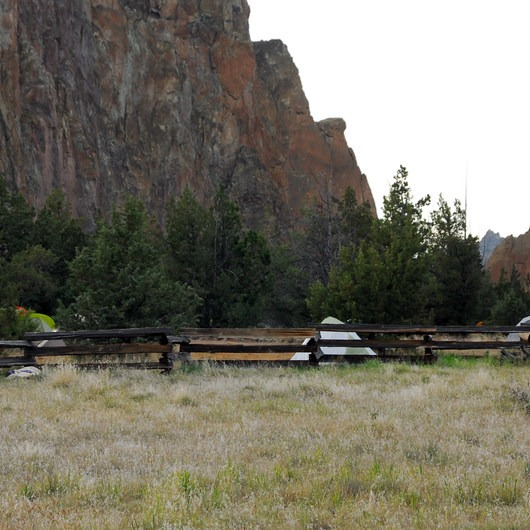 Smith Rock State Park, Bivouac Campground